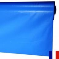 Bâche Bleue PVC 640g à la découpe largeur de 3 m