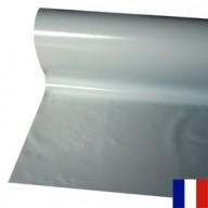 Bâche Argent PVC 680g à la découpe largeur de 3 m