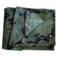 Bâche Camouflage Polyéthylène 140g dimensions 3,60 x 5 m