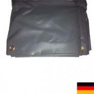 Bâche grise PVC 560g dimensions 5,87 x 7 m