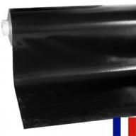 Bâche Noire PVC 680g ignifugée M2 à la découpe largeur 3 m