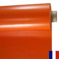 Bâche Orange PVC 640g à la découpe largeur 3 m