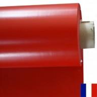 Bâche Rouge PVC 640g à la découpe largeur 3 m
