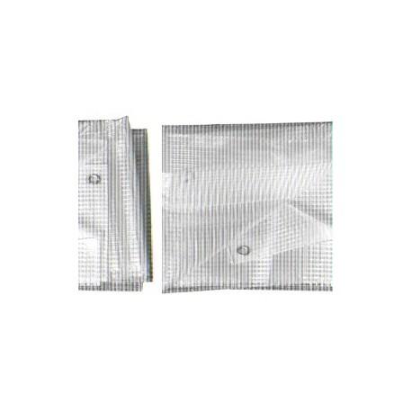 Bâche Transparente Polyéthylène 180g dimensions 10 x 15 m