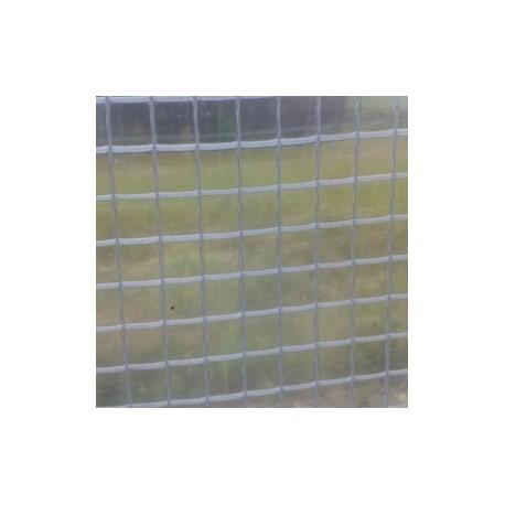 Bâche Transparente PVC armé 500g dimensions 4,87 x 5,00 m
