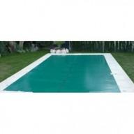 Bâche Verte PVC 560g dimensions 6 x 14 m