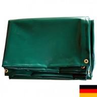 Bâche Verte PVC 560g dimensions 8 x 12 m