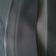 Bâche Noire Caoutchouc largeur 8,34 m au mètre