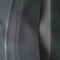 Bâche Noire Caoutchouc largeur 13,32 m au mètre