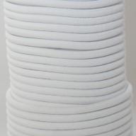 Câble élastique professionnel 8mm blanc