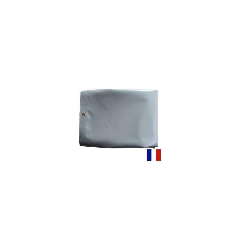 b 226 che pour pergola pvc 640g gris 200x290