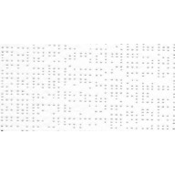 Toile pour pergola micro perforée blanche 400x500