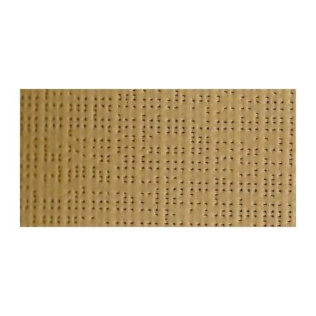 Toile pour pergola micro perforée poivre 300x300