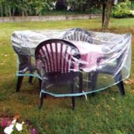 Housse pour salon de jardin rond Eco