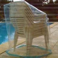 Housse pour chaises de jardin Eco