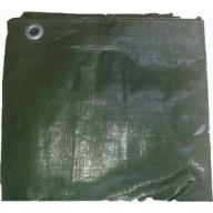 Bâche à bois polyéthylène 230 g/m² 150x600 cm vert