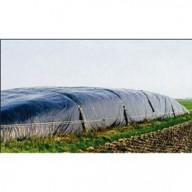 Rouleau de film contre les mauvaises herbes noir 12 x 27 m