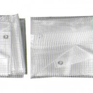 Bâche de toiture transparente 4 x 10 m