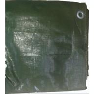 Bâche de protection de toiture anti UV 6 x 8 m