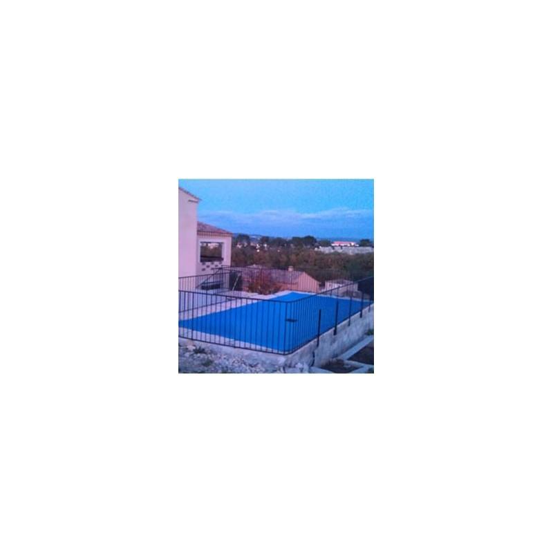 b che d 39 hivernage pour piscine 5 x 9 m en pvc 640g m. Black Bedroom Furniture Sets. Home Design Ideas