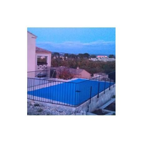 B che d 39 hivernage pour piscine 8 x 14 m en pvc 640g m for Bache hivernage piscine