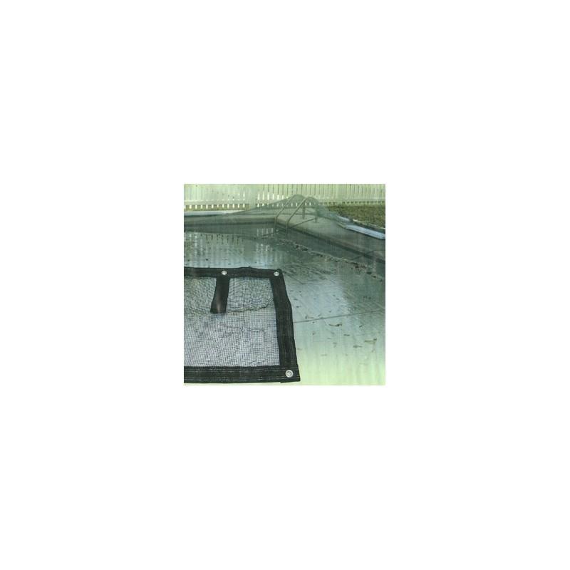filet de protection pour piscine 6 x 12 5 m en poly thyl ne. Black Bedroom Furniture Sets. Home Design Ideas