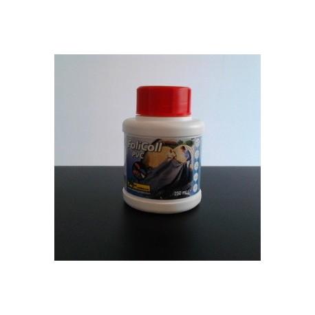 Colle pour b che d 39 tang en pvc flexiliner 250ml for Bache pvc etang